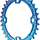 Race Face Narrow Wide Chainring, 104BCD 32T - Blue