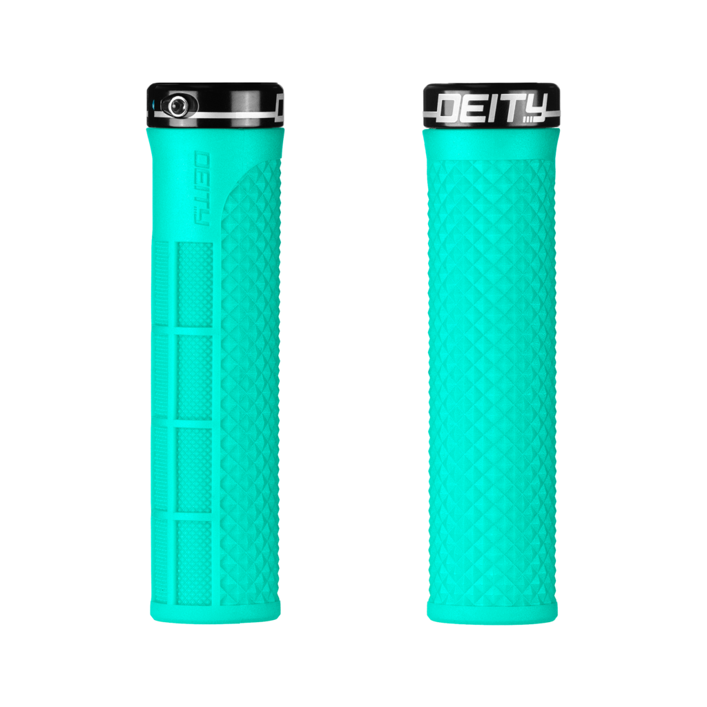 Deity Lockjaw Grips - Mint