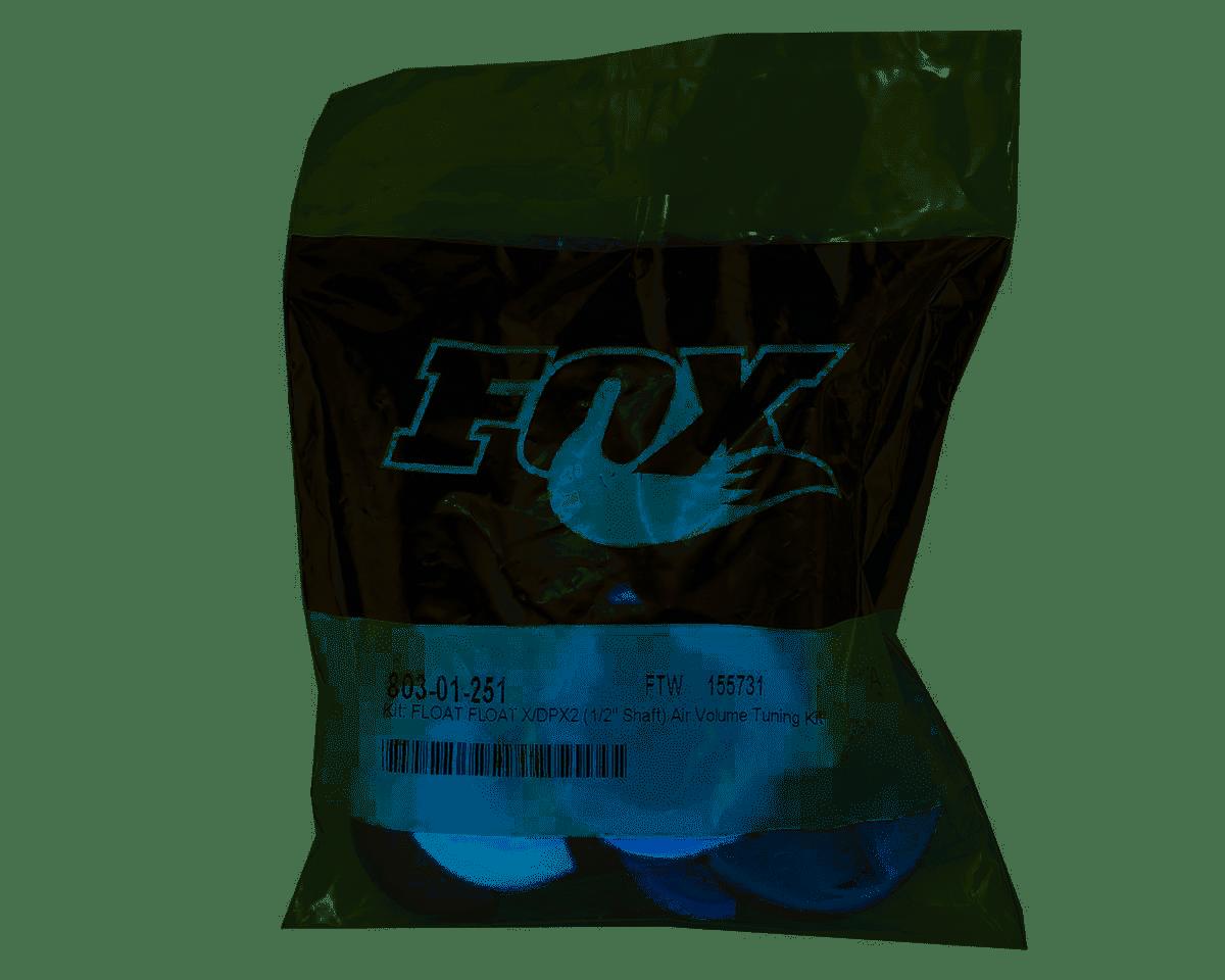 "Fox Shox Air Spring Volume Tuning Kit, Float x, DPX2(1/2""Shaft)"