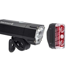 BLACKBURN Blackburn Dayblazer 800 Front + Dayblazer 65 Rear Light Set - Black