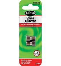 Slime Slime, Presta Valve Adapter, Pair