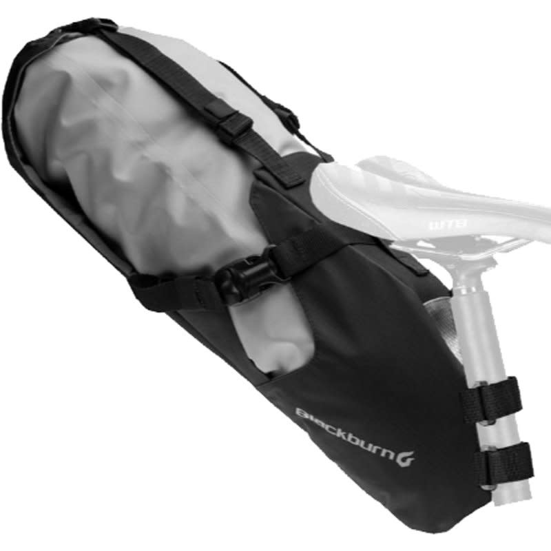 BBN OUTPOST SEAT PACK W/ DRY BAG BLACK