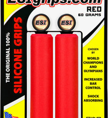 ESI E.S.I., Chunky, Grips, 130mm, Red, Pair