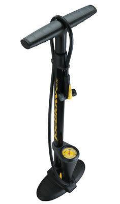 Topeak Joe Blow Max HP Floor Pump with Gauge, Black