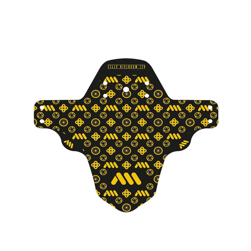 All Mountain Style Mud Guard, Gold/Couture