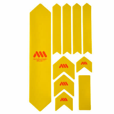 All Mountain Style Extra Honeycomb Frame Guard, Yellow/Orange