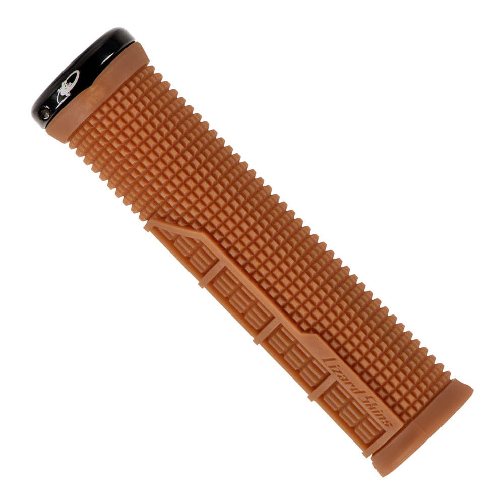 Lizard Skins Lizard Skins, Machine Single-Sided Lock-On, Grips, 135mm, Gum, Pair