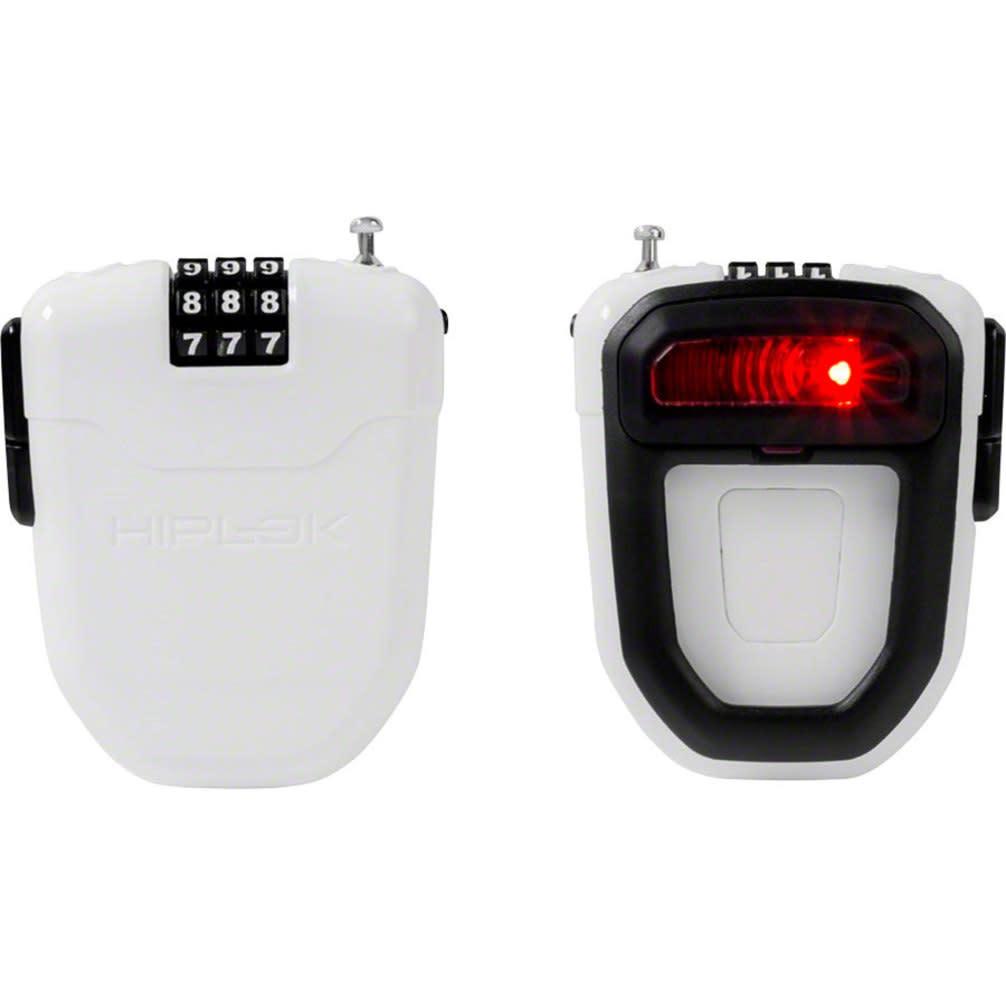 Hiplok Hiplok FLX Wearable Cable Lock with LED, White