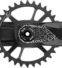 TruVativ Truvativ, Descendant 6K DUB, Crankset, Speed: 11/12, Spindle: 28.99mm, BCD: Direct Mount, 32, DUB, 170mm, Black, Boost