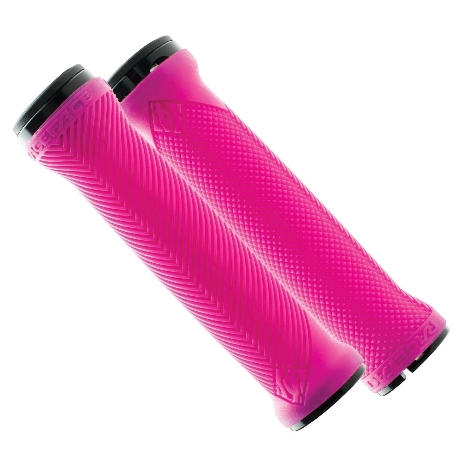Race Face Love Handle Silicone Grips, Pink NLS