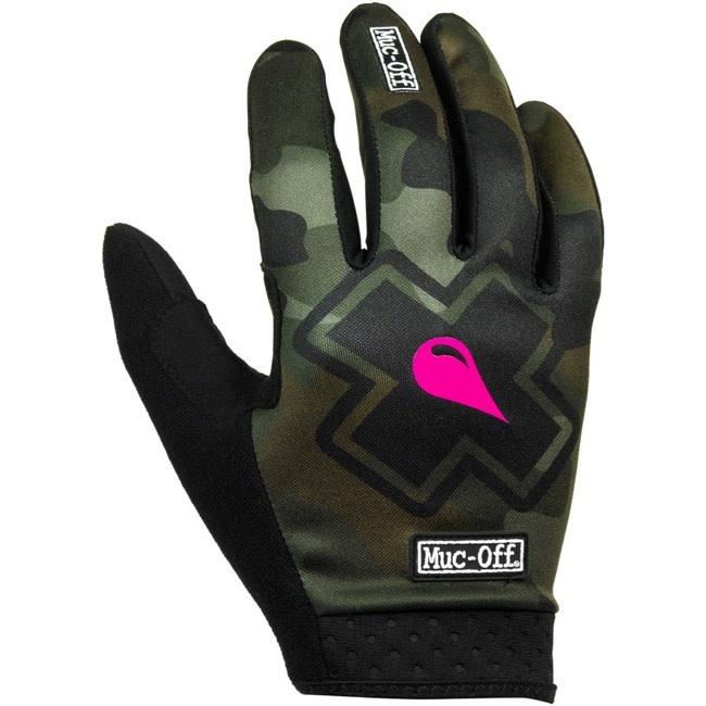 Muc-Off Muc-Off MTB Gloves - Camo, Full-Finger, Small