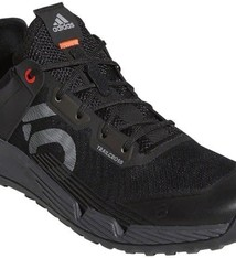 Five Ten Five Ten Trailcross LT Men's Flat Shoe: Black/Gray Two/Solar Red 9.5