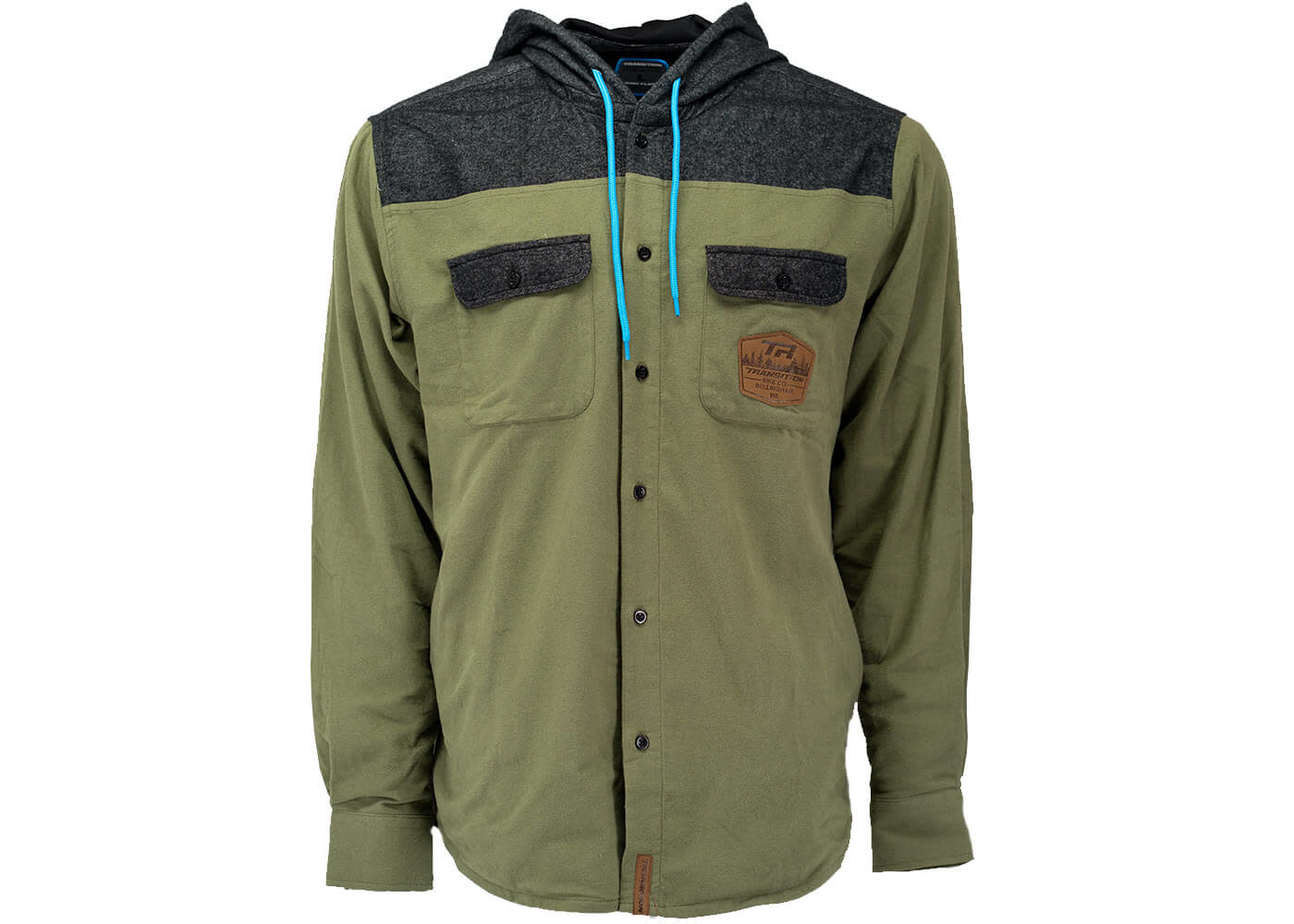 Transition Hooded Huckit Flannel