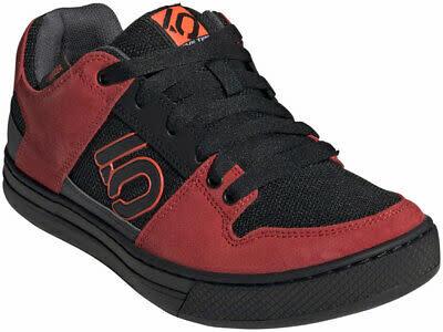 Five Ten Five Ten Freerider Men's Flat Shoe: Black/Solar Red/Gray Six 10