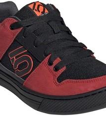 Five Ten Five Ten Freerider Men's Flat Shoe: Black/Solar Red/Gray Six 12