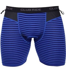 Club Ride Club Ride, Johnson, Base Layer, Men, Cobalt Stripe, M