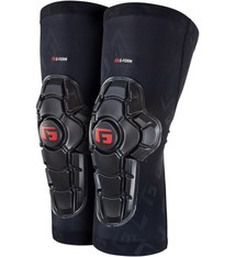G-Form G-Form Pro-X2 Knee Youth Pads: Black Embossed SM/MD