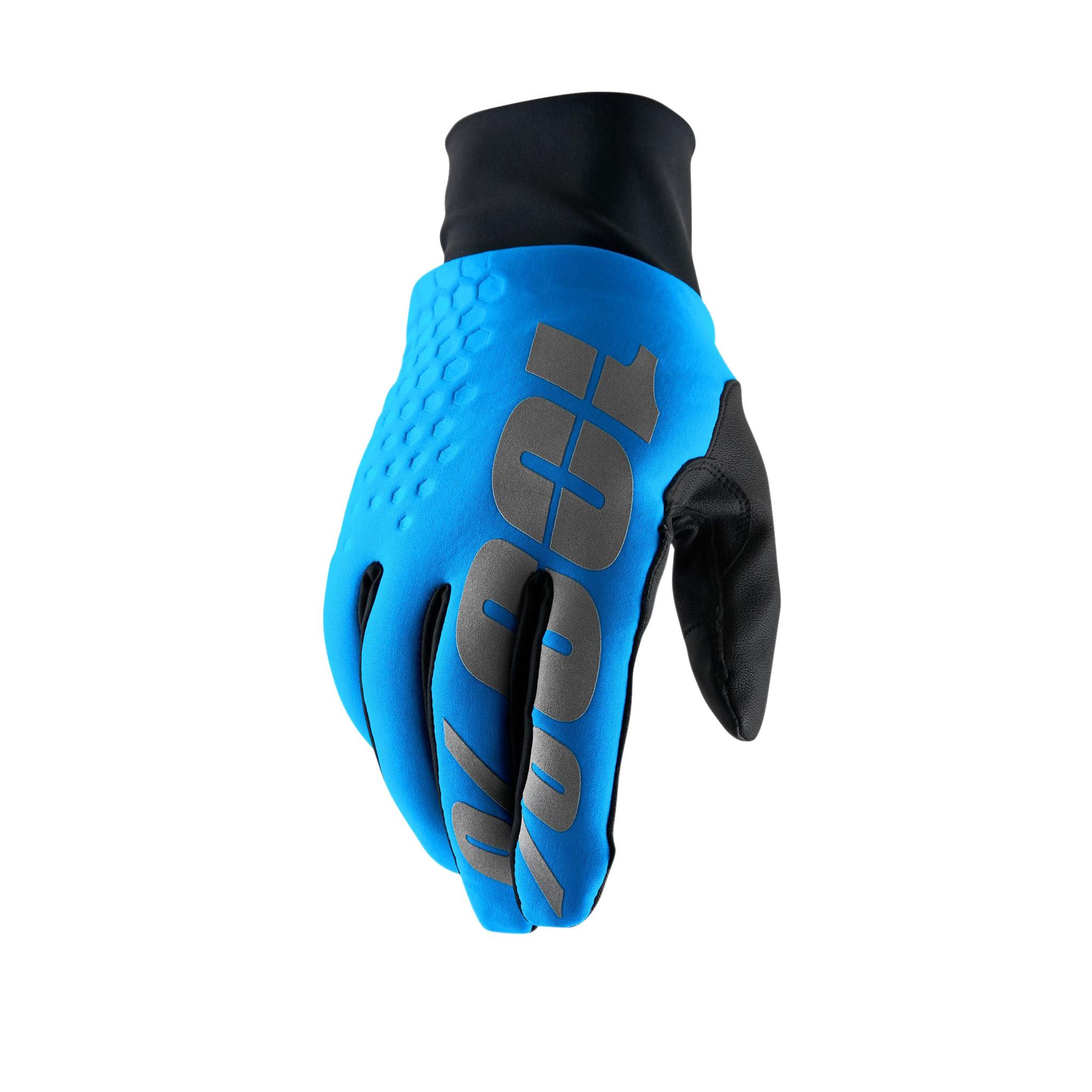 100% Hydromatic Waterproof Brisker Glove, Blue - M (9)