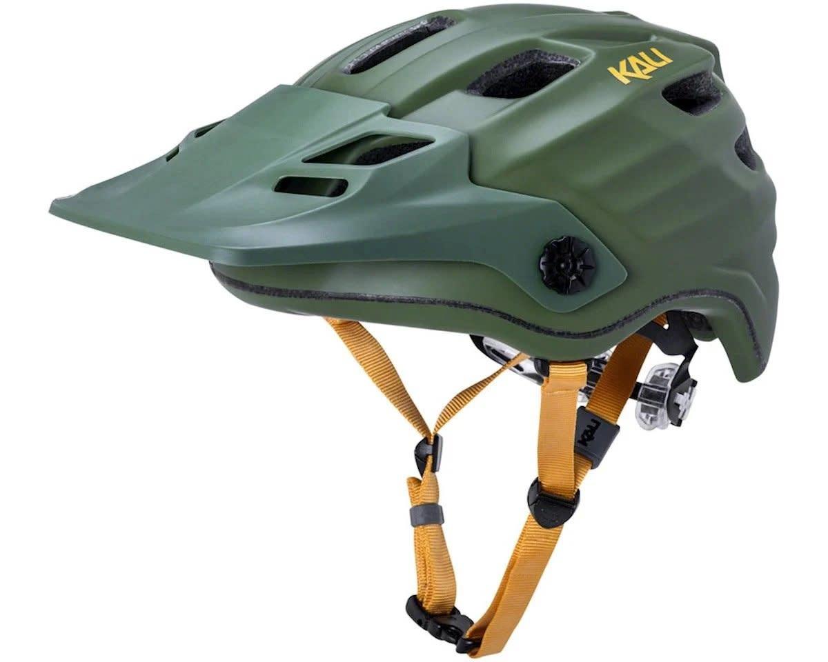 KALI Maya 2.0 Enduro Helmet, Khk/Ylw - S/M