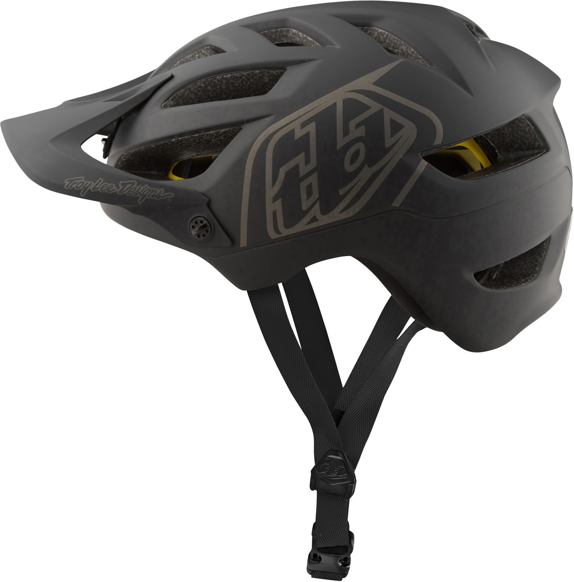 Troy Lee Designs A1 MIPS; CLASSIC BLACK XL/2X