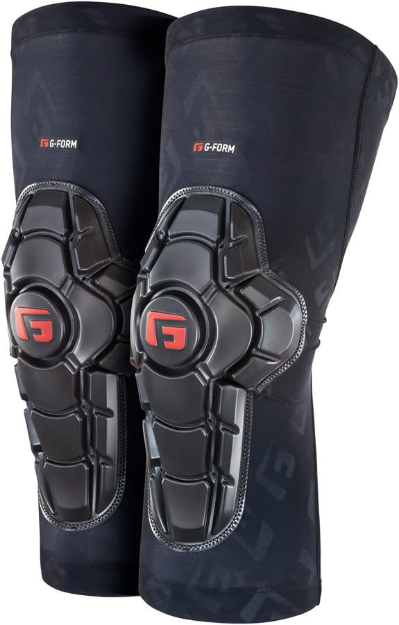 G-Form G-Form Pro-X2 Knee Pads - Black Embossed, Small