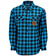 Transition Huckit Flannel TR blue