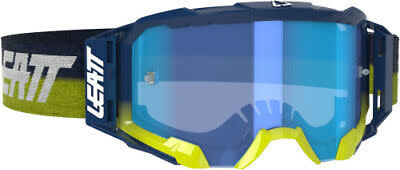 Leatt Velocity 5.5 Goggle,Ink, Blue 70% Lens