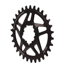 Wolf Tooth Components Wolf Tooth Components Elliptical GXP Direct Mount Chainring, 32T - Black