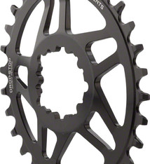 Wolf Tooth Components Wolf Tooth Components Elliptical GXP Direct Mount Chainring, 30T - Black