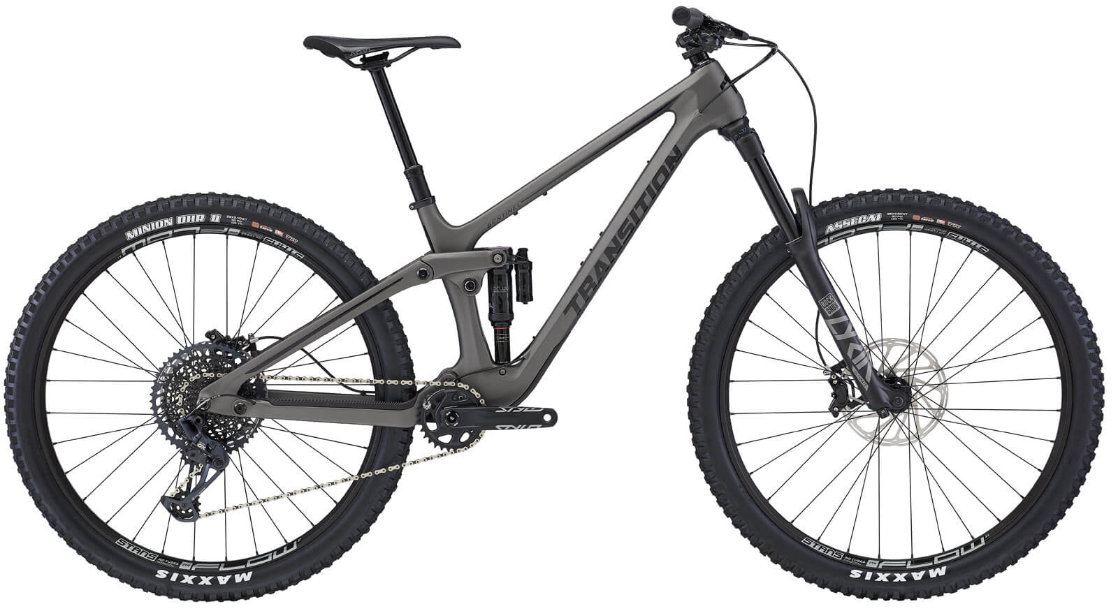 Transition Sentinel Carbon GX (Large, Ti Grey)
