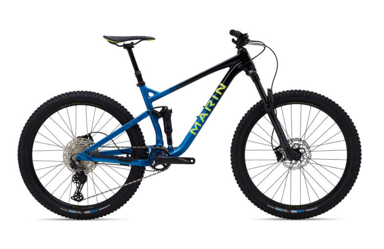 Marin MARIN HAWK HILL 2 Gloss Black/Blue/Yellow M