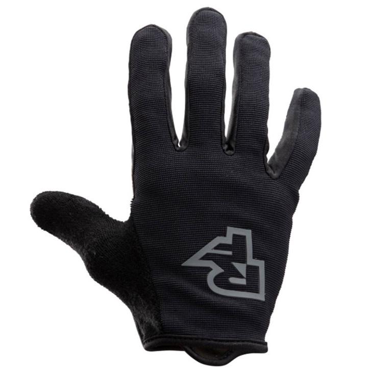 Race Face Trigger Gloves-Black-Small Black