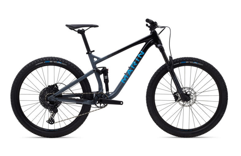 Marin Marin HAWK HILL 1 Gloss Black/Charcoal/Blue L