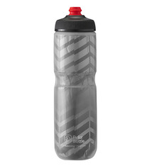 Polar Bottle Polar, Breakaway Insulated 24oz, Water Bottle, 710ml / 24oz, Charcoal/Silver