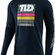Troy Lee Designs PREGAME L/S TEE; NAVY XL