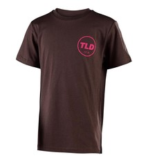 Troy Lee Designs MASSIVE COME UP TEE; BROWN HTR XL