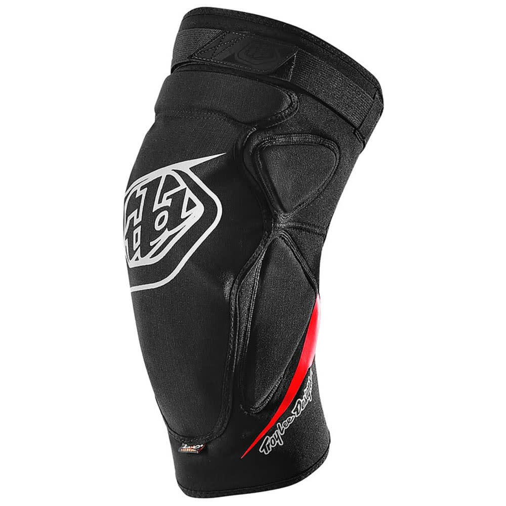Troy Lee Designs RAID KNEE GUARD; BLACK XS/SM