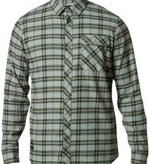 Fox Racing Fox Racing Boedi Flannel Shirt - Pewter, Long Sleeve, Men's, Large