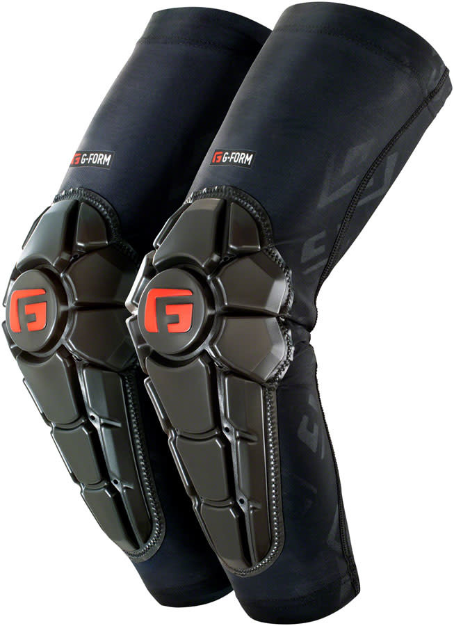 G-Form G-Form Pro-X2 Elbow Youth Pads: Black Embossed SM/MD