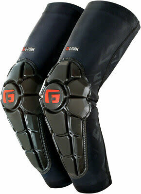 G-Form G-Form Pro-X2 Elbow Youth Pads: Black Embossed LG/XL
