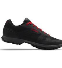Giro Cycling Giro Gauge Dirt Shoes - Black/Bright Red - Size 44