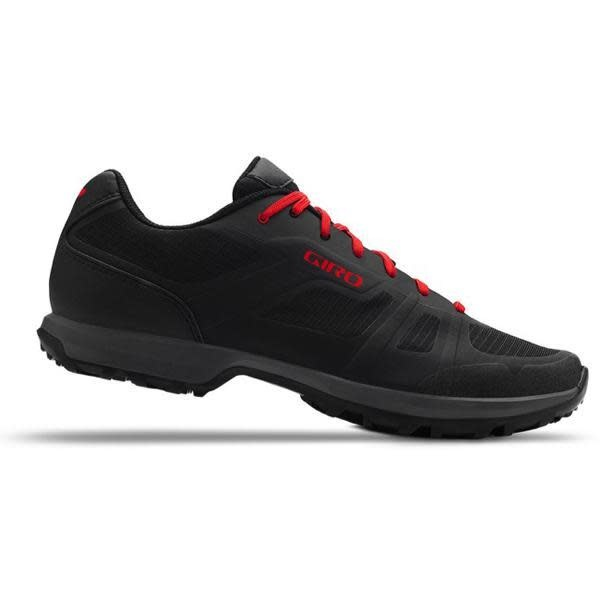 Giro Cycling Giro Gauge Dirt Shoes - Black/Bright Red - Size 44