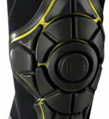 G-Form G-Form Pro-X Knee Pad: Black/Yellow XS