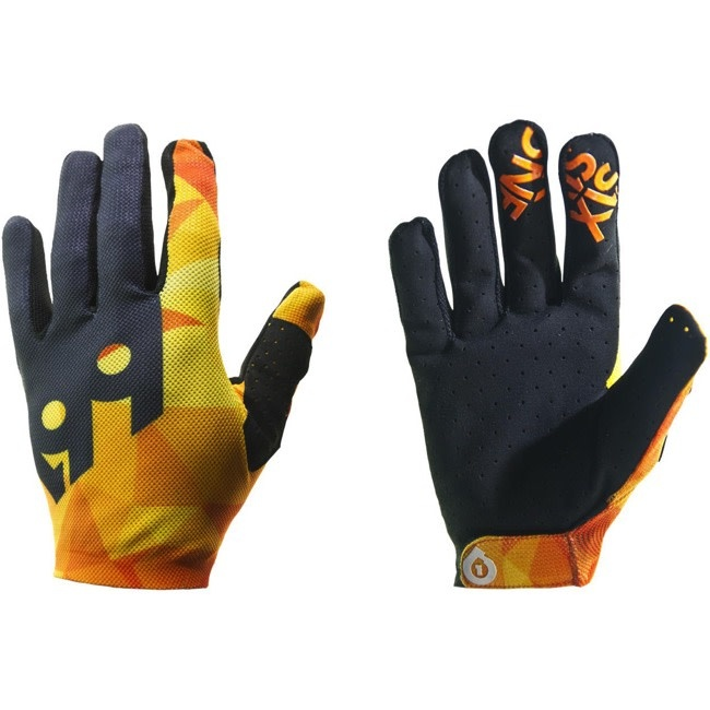 SixSixOne Raji Glove, Orange - M