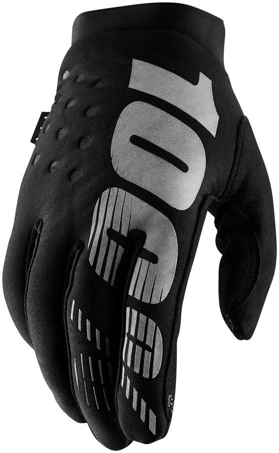 100% Brisker Glove, Black - XL (11)