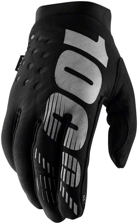 100% Brisker Glove, Black - M (9)