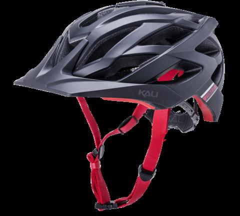 KALI Lunati Enduro Helmet, Blk/Red - S/M