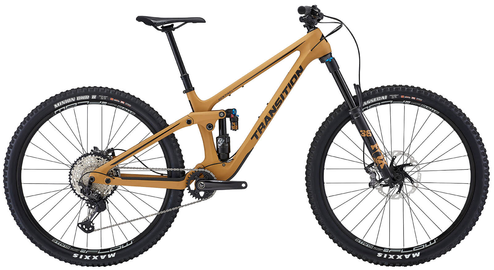 Transition Sentinel Carbon XT (Large, Loam Gold)