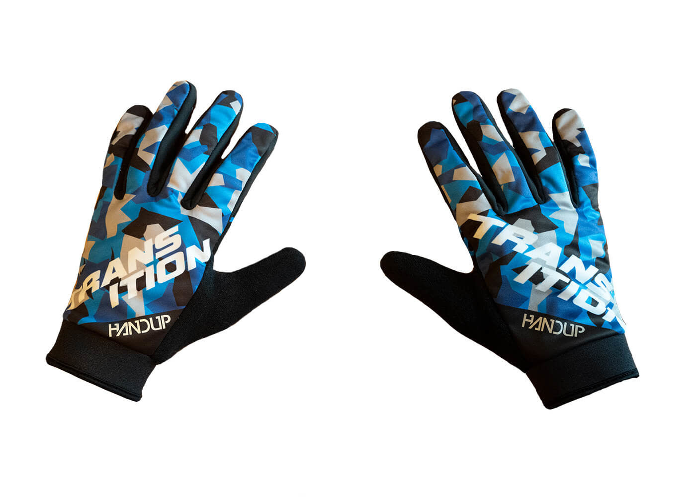 TBC - Digital Frost Glove (Large, Blue/Grey/Black)