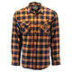 TBC - Huckit Flannel (Autumn Orange Plaid, X-Large)